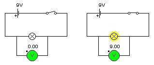 tension circuit en dérivation